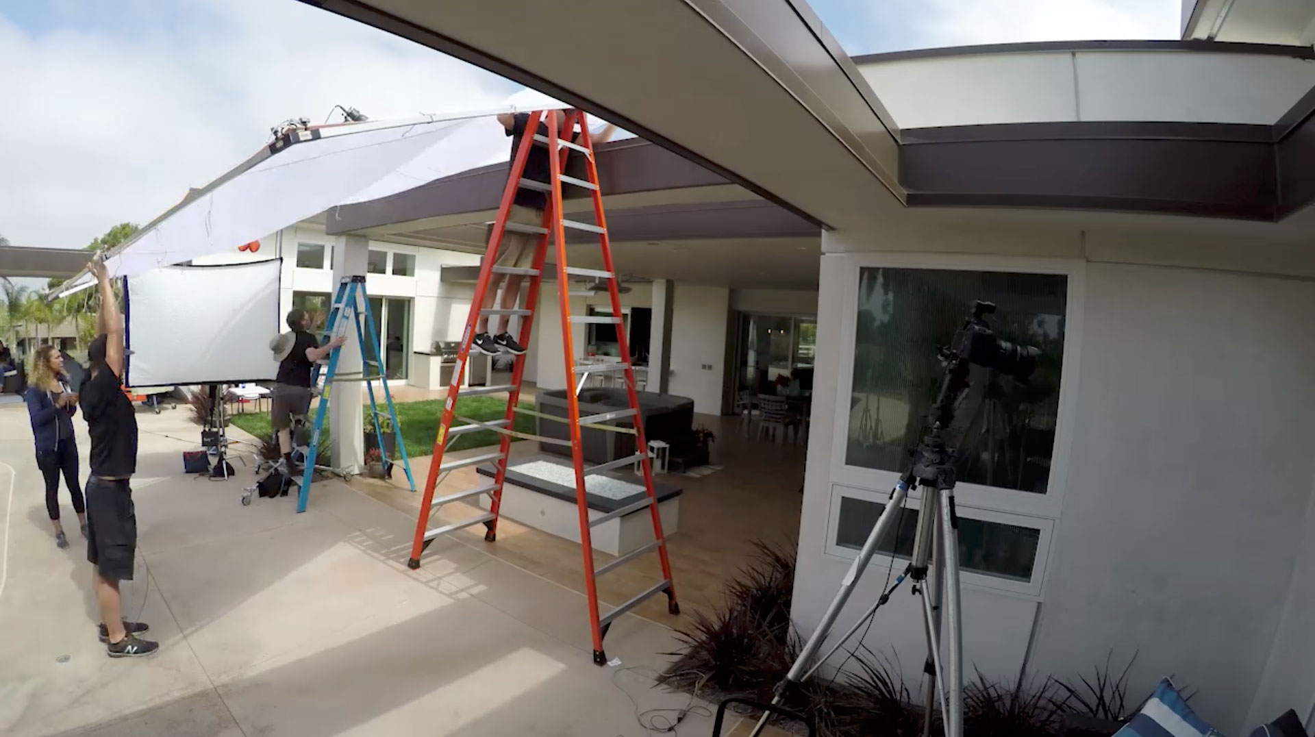 Time-lapse video on location for Watkins Wellness Spa